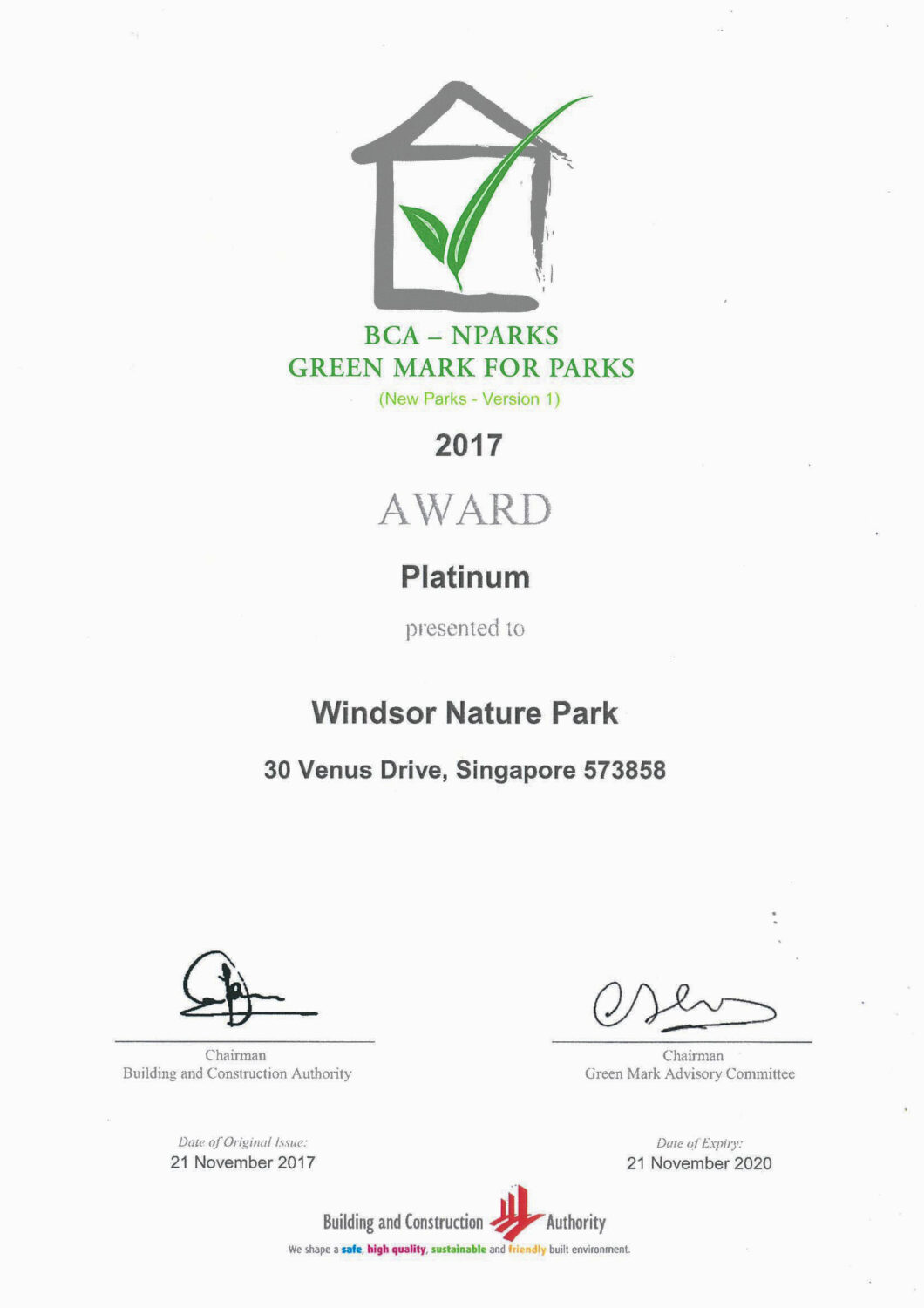 WNP_Green Mark Certificate2